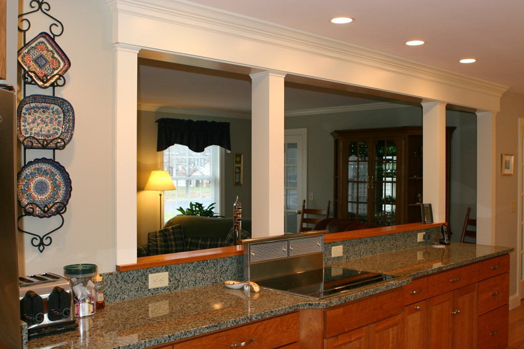 wonderful Remodeling Open Kitchen Living Room #3: Custom Kitchen South Deerfield Ma Renaissance Builders. Open Living Room Ideas For A Alluring Remodeling Or